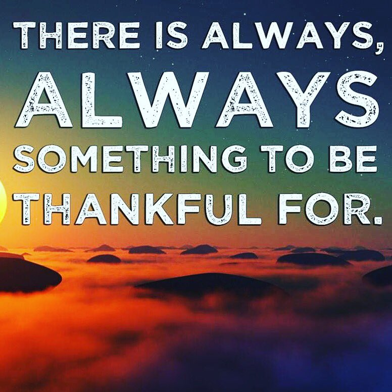 There is always something to be thankful for! #positivevibes #blessings #blessed #happy #thankful #grateful #thankfulquotes #gratefulquotes <br>http://pic.twitter.com/wxwsuvFACO