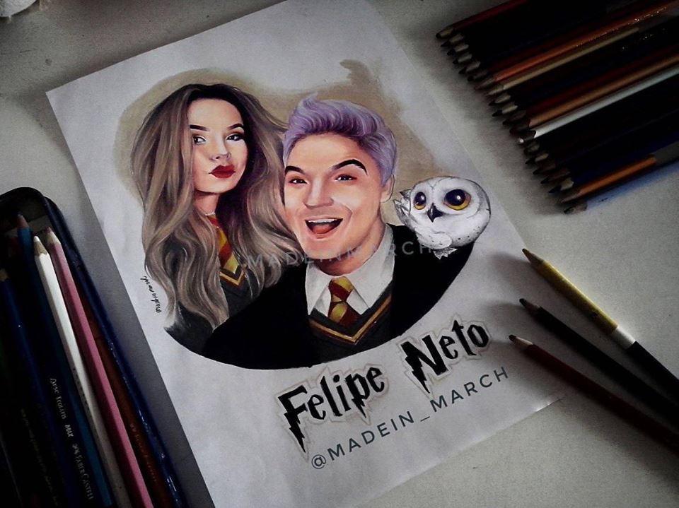 Luccas Felipe V Twitter Desenho Maravilhoso Do Felipeneto