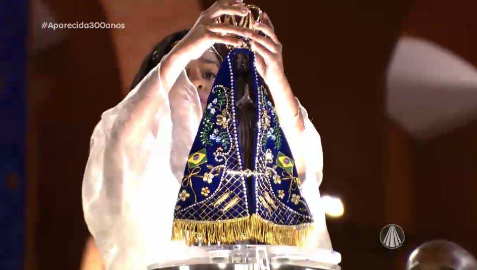 Te Coroamos, Nossa Senhora Aparecida, Mãe, nossa Rainha #Aparecida300anos