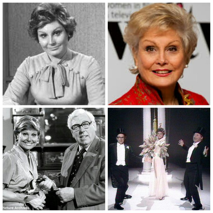 Happy Birthday to the Television Journalist, Newsreader, Writer and Presenter Angela Rippon