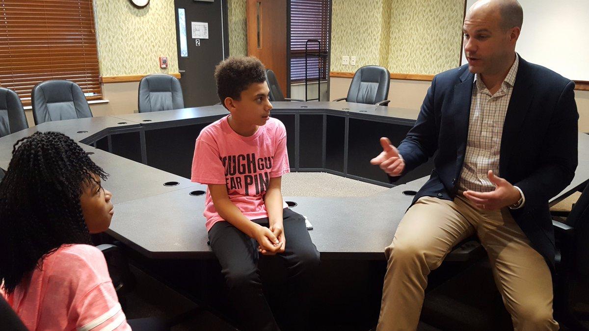 Geneva City Supervisor visits Boys and Girls Club