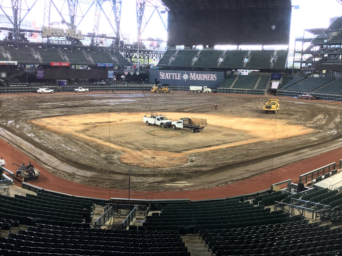 Here's the latest at Safeco. Moving plen...