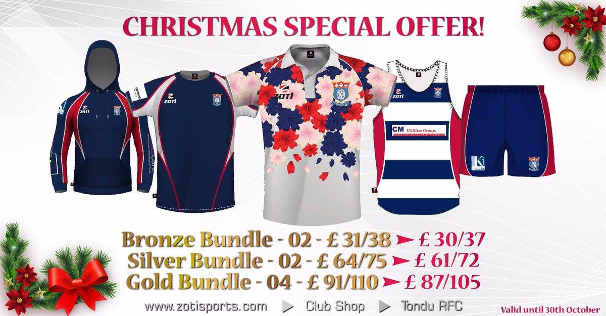 Open For Christmas Orders.Tondu Rfc On Twitter Club Shop Is Now Open For Christmas