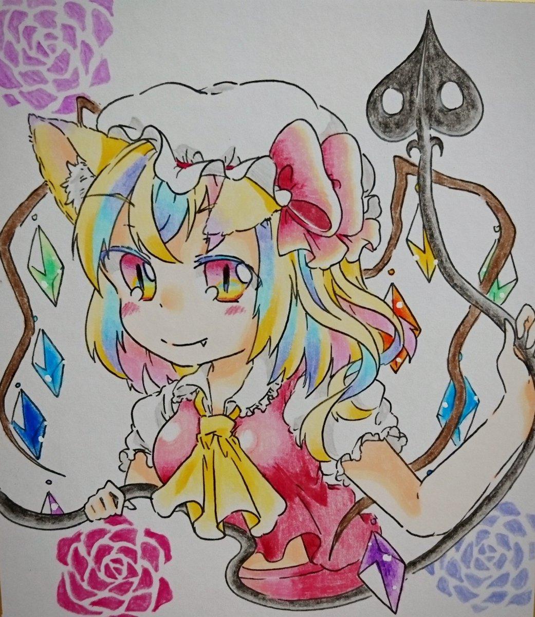 猫神 On Twitter メルカリで東方のイラスト描いて売ってます と