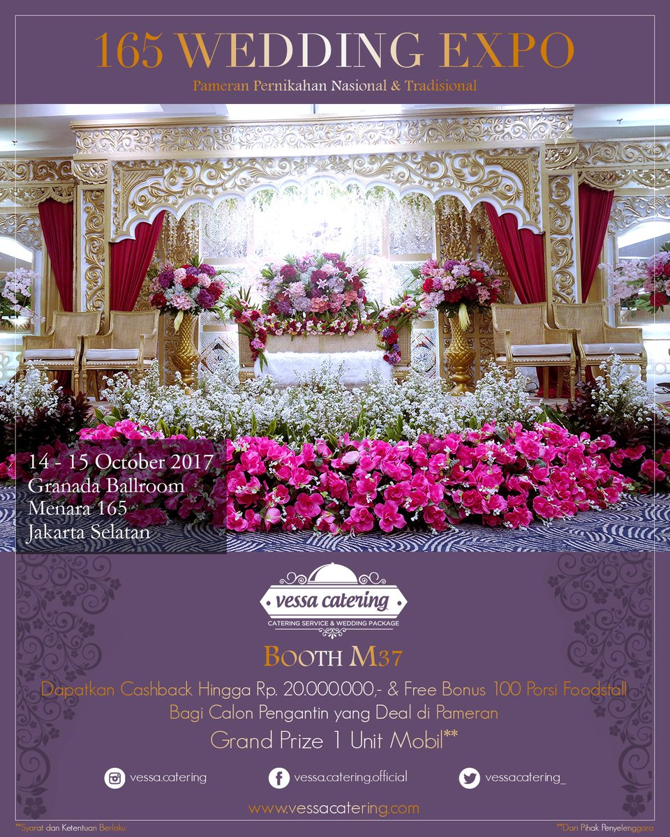Vessa Catering On Twitter Vessacatering Wedding Weddingpackage Catering Paketpernikahan Tatarias Menara165 Dekorasipernikahan Weddingdecor Weddingdecoration Https T Co Xgprzirtf9