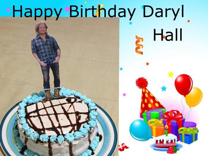 Happy Birthday Daryl hall :) hope you had a great day