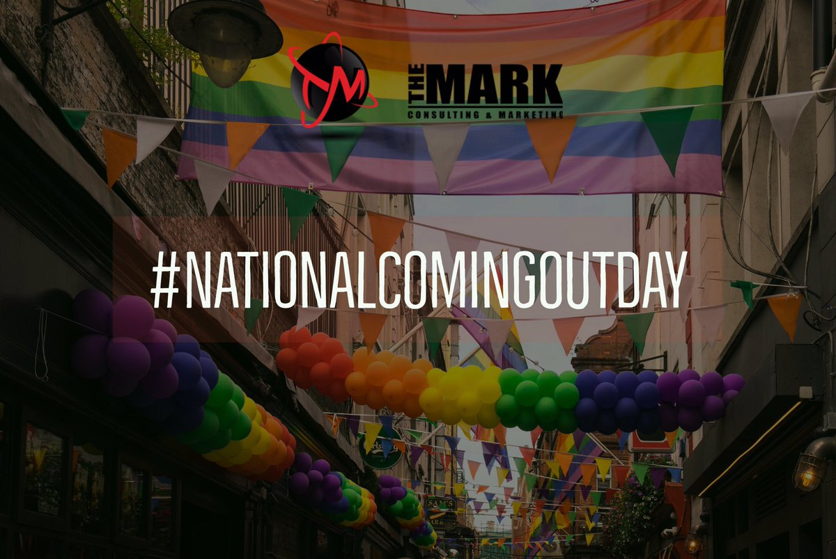 Happy #NationalComingOutDay #TheMarkConsulting &amp; #Marketing #YegMarketing #YegPride <br>http://pic.twitter.com/CkQyZHxtTS
