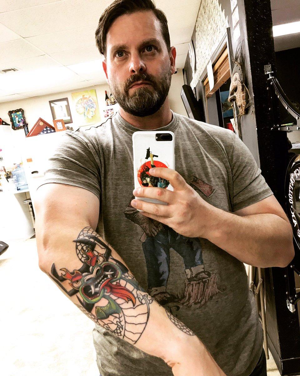 Paul Shirey On Twitter Samurai Jack Tattoo Progress Aku One April 2010 More Appointment To Finish It Up