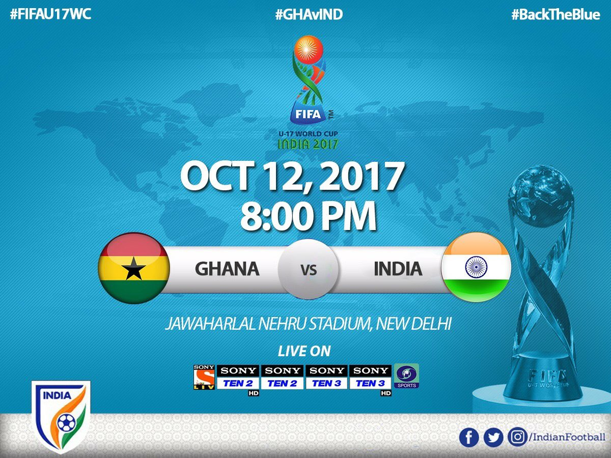 Cheer loud for U17 World Cup Team as the...