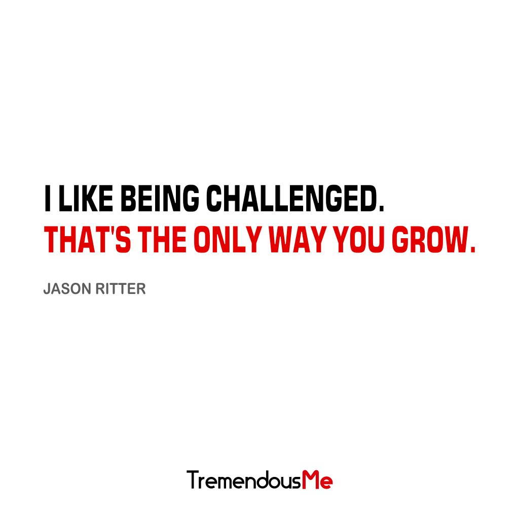 I like being challenged. That&#39;s the only way you grow. — Jason Ritter #challenged #theonlywayyougrow #grow #JasonRitter <br>http://pic.twitter.com/0Jv0EZmkSS