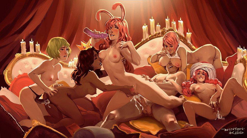 по гуливудски секс-фантазия