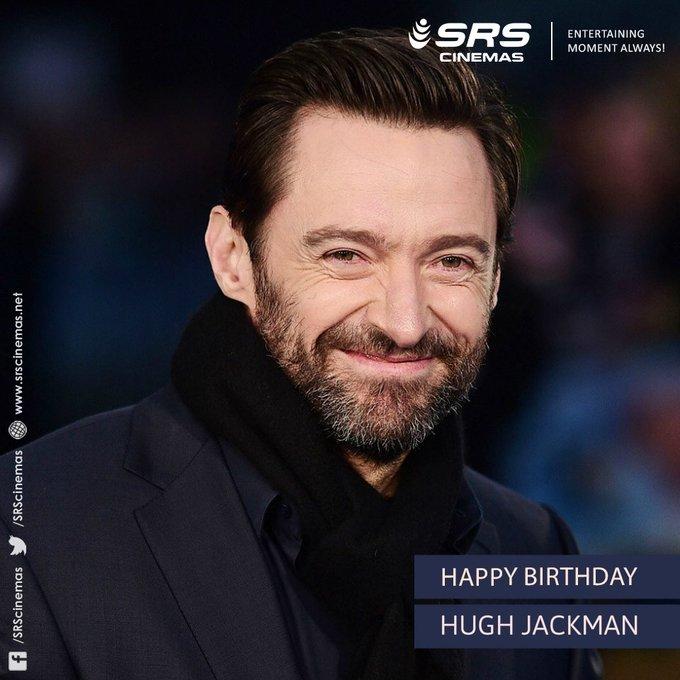 A very Happy Birthday, Hugh Jackman.