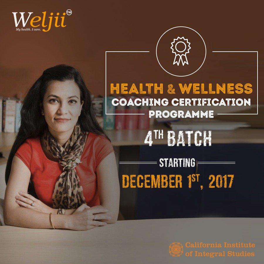 Weljii weljiiofficial twitter weljii announces open registrations for its 4th healthwellness coaching certification programme register httpinstituteweljiiregister xflitez Image collections