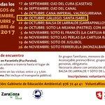 🏞️🚶15OCT domingo, visita guiada al #ríoGállego y más. ¿Vienes? #Zaragoza #EntreHuertasYSotos #LifeZGZnatural #LIFEprogramme #LIFE25natura