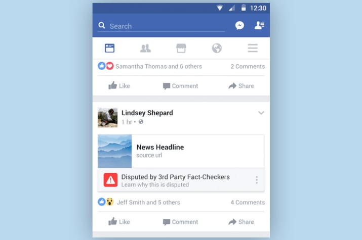 Facebook Says Its Fake News Label Helps Reduce The Spread Of A Fake Story By 80% #SFLR #BuzzFeed  http:// ow.ly/ycJc30fPfpn  &nbsp;  <br>http://pic.twitter.com/gqPwALVqTJ