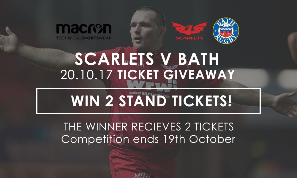Win two tickets for the @scarlets_rugby v @bathrugby   https:// tinyurl.com/y7jqpcxm  &nbsp;    #scarletsrugby #bathrugby #macron #giveaway<br>http://pic.twitter.com/FXyXKNKqba