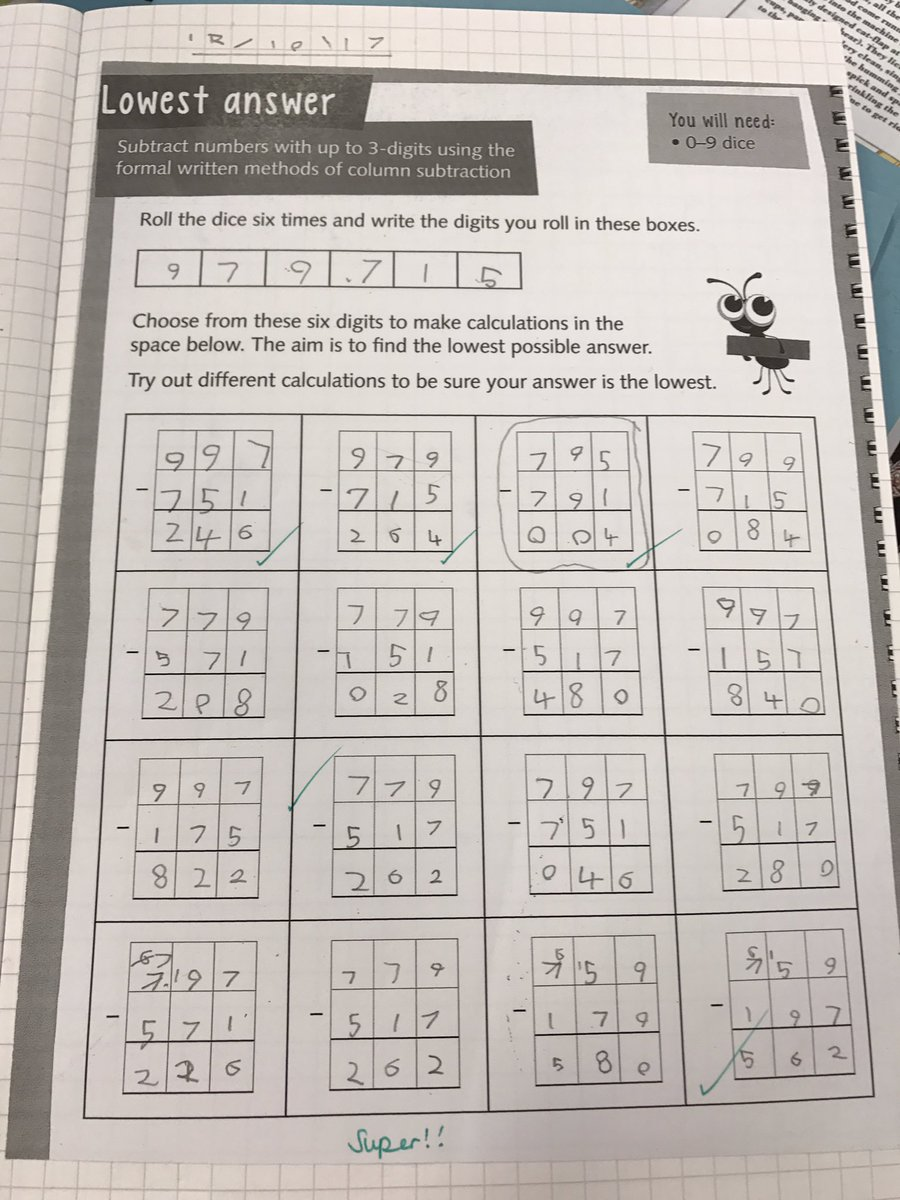 math worksheet : broad oak year 4 on twitter wow ? we have tackled some tricky  : Addition Column Crossword