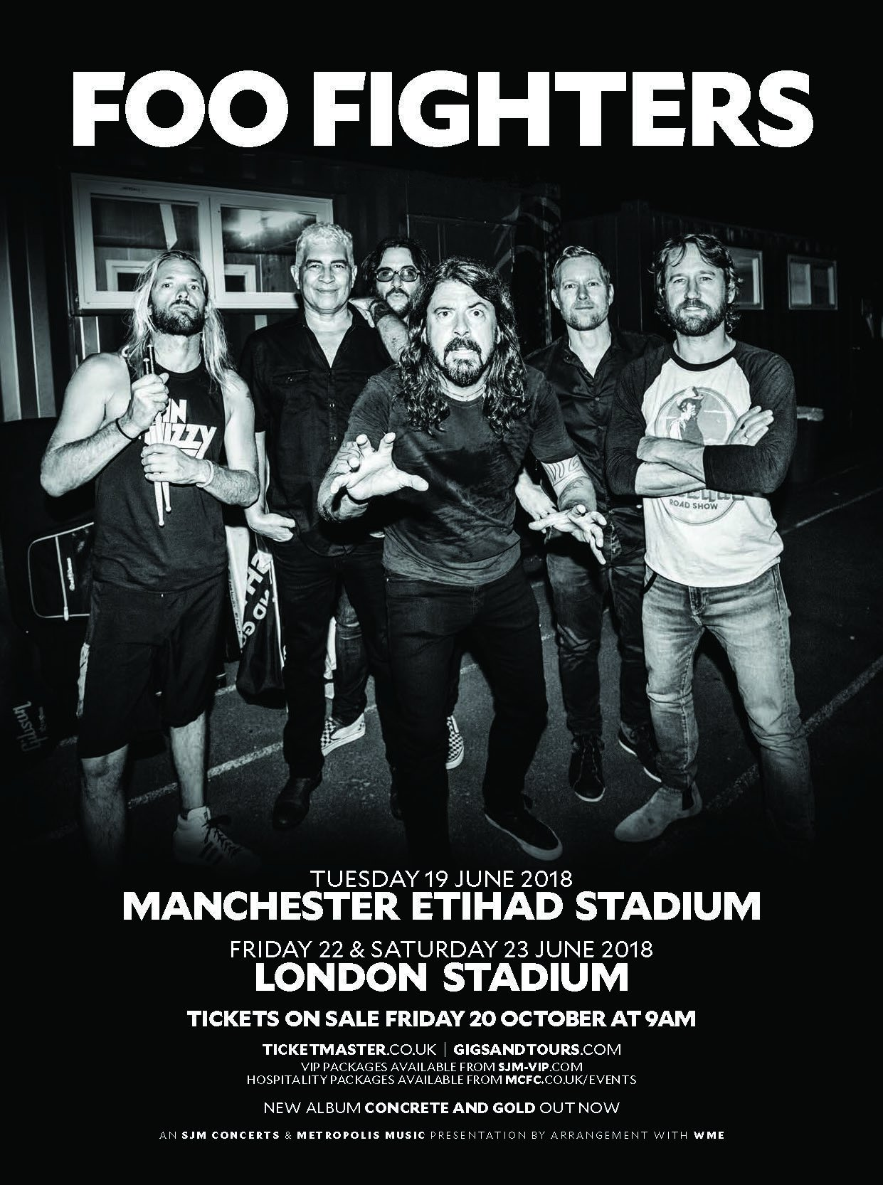 Foo Fighters Tour  Tickets