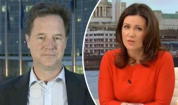 Nick Clegg branded a 'traitor' by GMB viewers over how to stop Brexit https://t.co/VgUeYnVOoi