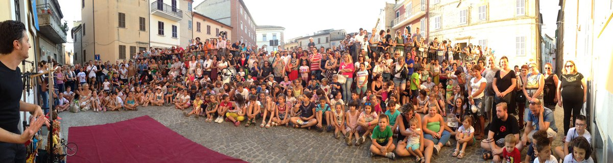 Its truly an emotional experience when you have such a warm and supportive audience as this... thank you- Grazie - Offida #offida #fof #show<br>http://pic.twitter.com/y6eXkpjFg2