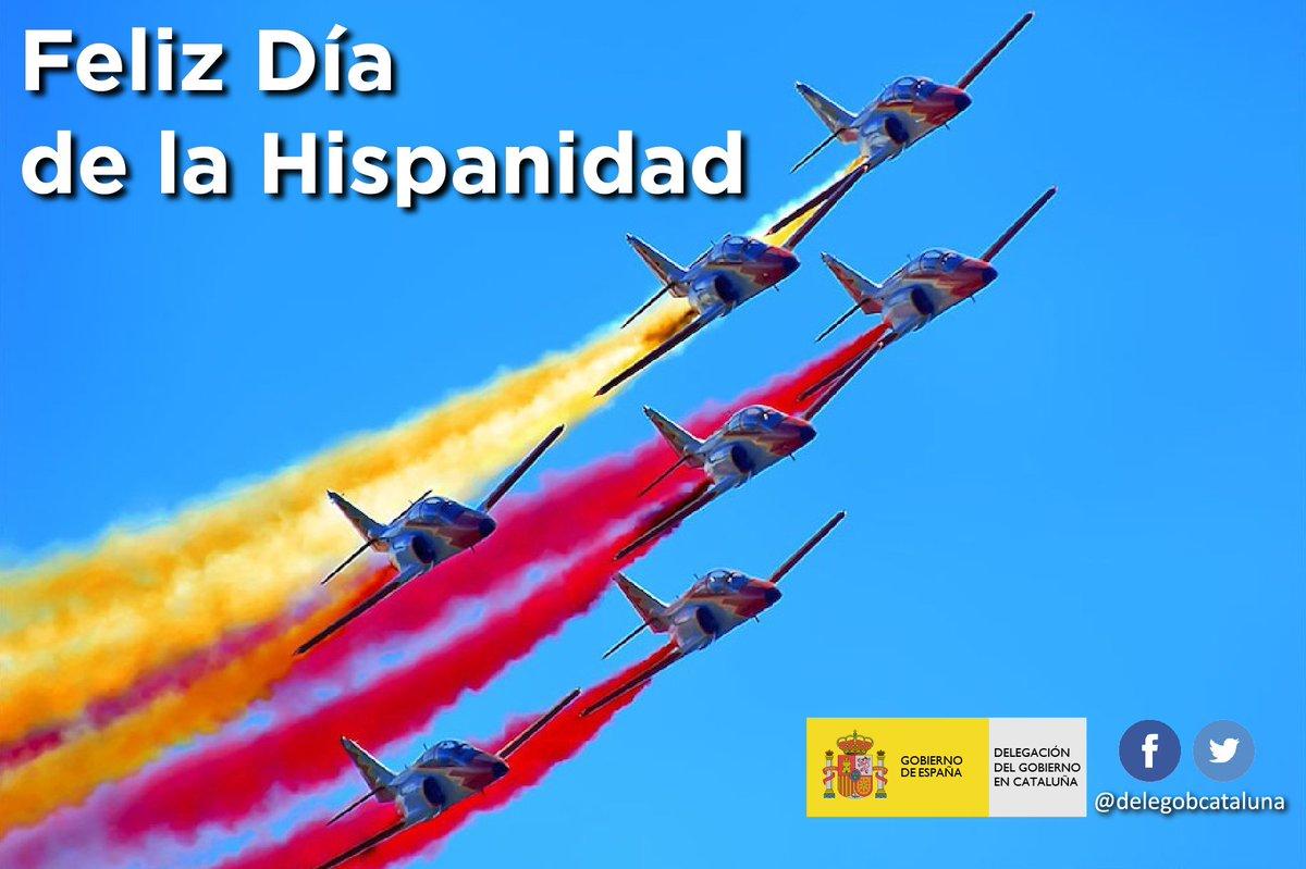 Feliz #DiaDeLaHispanidad a tod@s  #12oct...