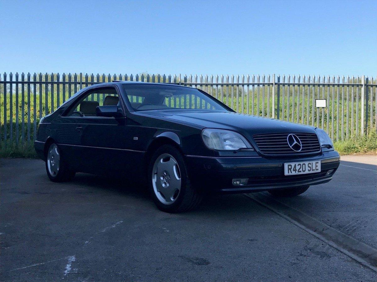 Mercedes-benz w140 s600 w12