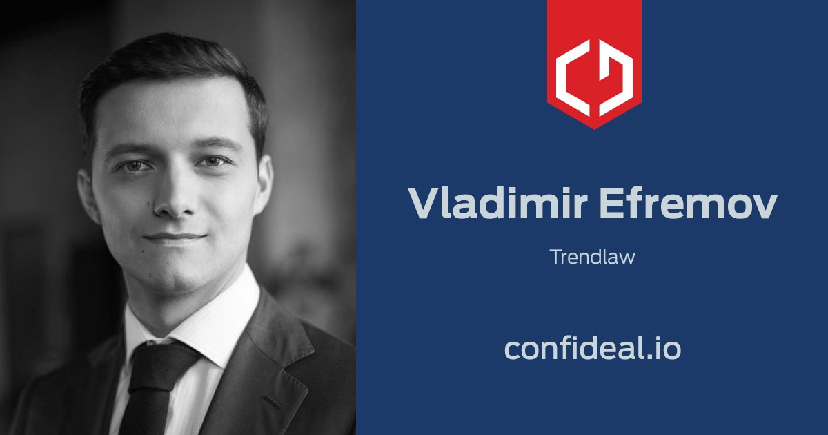1/2 Introducing Vladimir Efremov, our #advisor and our biggest acquisition in the #legal industry.<br>http://pic.twitter.com/g2zQxOvUt5