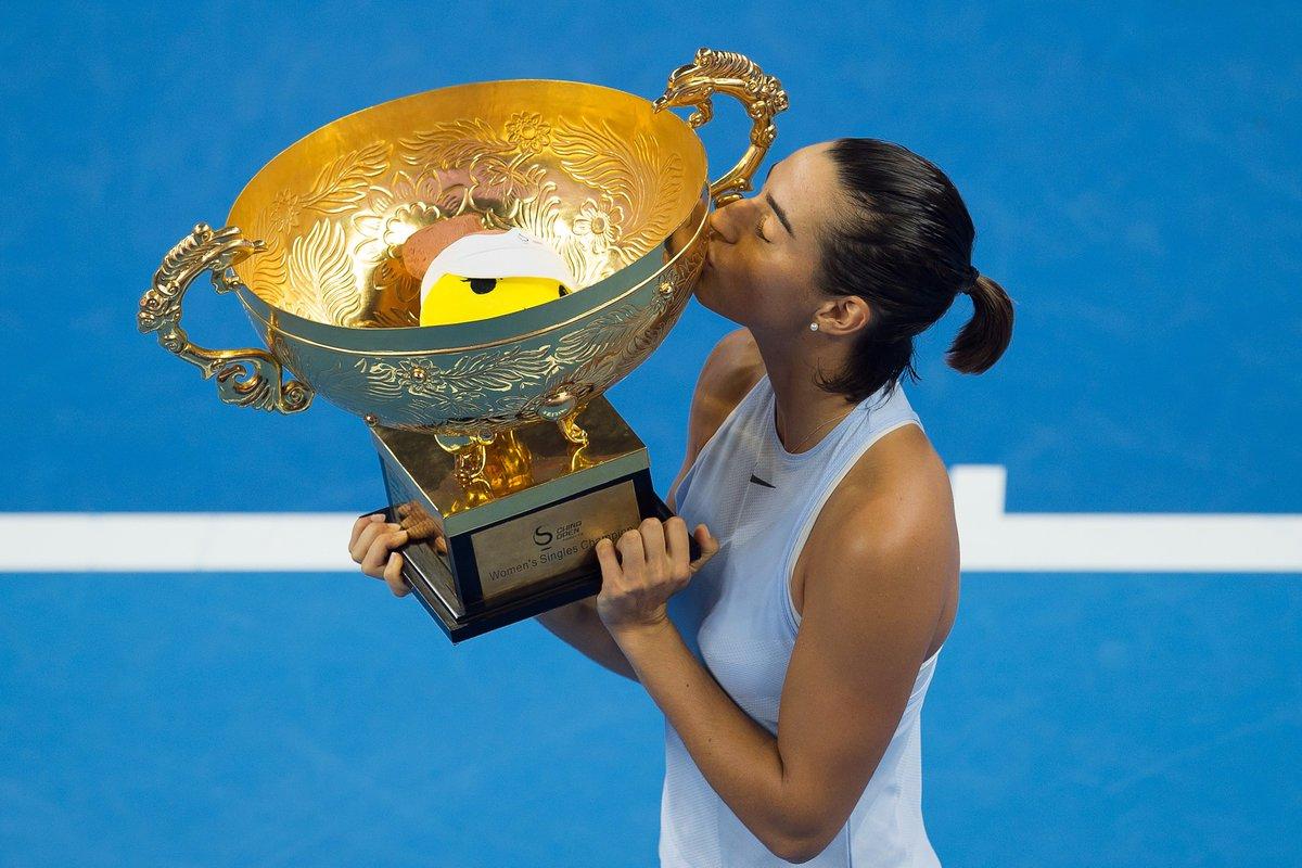test Twitter Media - #TENNIS @CaroGarcia qualifiée pour le Masters à Singapour après le forfait de Johanna Konta à Moscou ! Une première depuis Bartoli en 2011 ! https://t.co/r22Saw483H