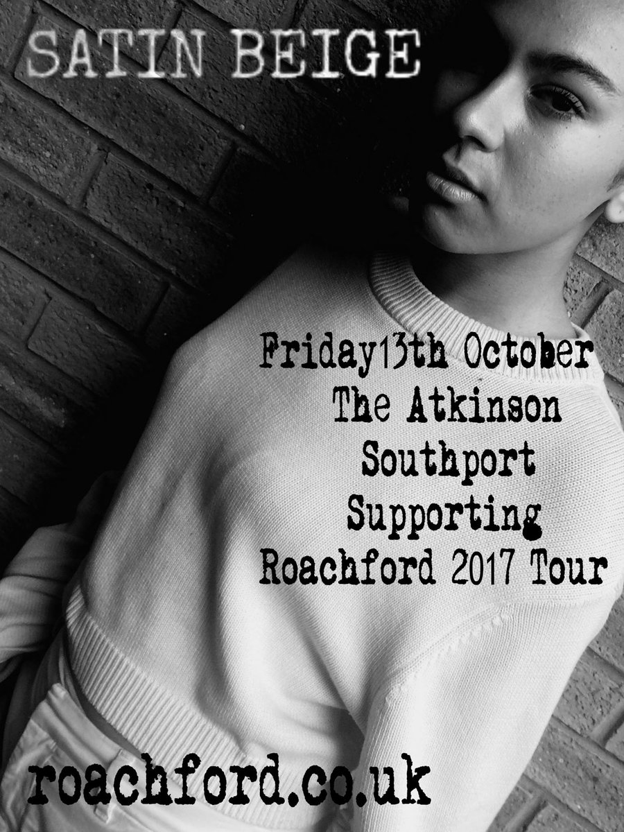 TOMORROW Ill Be Supporting @andrewroachford  @AtkinsonThe #Southport Tickets &gt;&gt;&gt;  https:// roachford.co.uk/gigs/  &nbsp;  <br>http://pic.twitter.com/a8zEMDA5TO