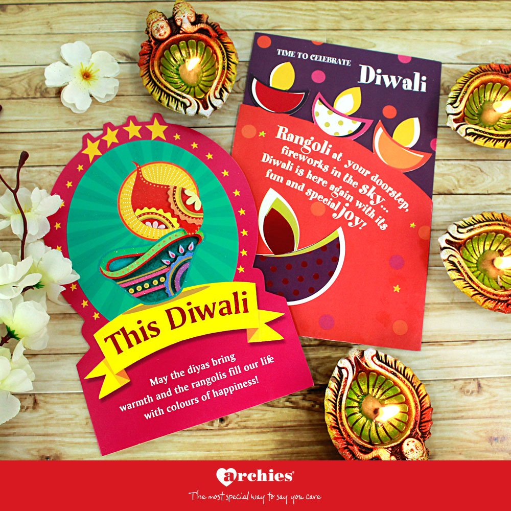Archies On Twitter Spread Happiness With Archies Diwali Cards
