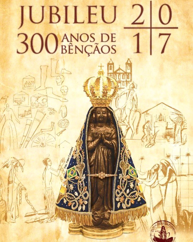 Celebrating Our Patroness 300 year's.   Our Lady of Aparecida #nossasenhoraaparecida #nossasenhora #aparecida300anos #aparecidadonorte<br>http://pic.twitter.com/2weg91mV1L