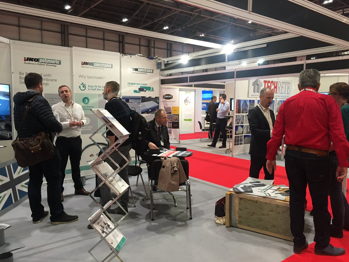 2nd day of the show and our stand is already busy @TheOFFSITEShow #Roofing #singleply <br>http://pic.twitter.com/FPXWyN18B1
