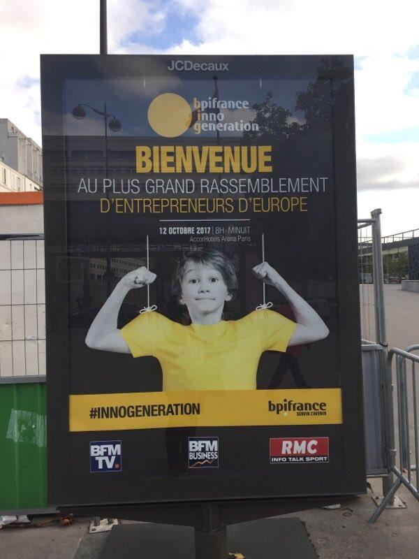 L'équipe de @Check_Kit pitche aujourd'hui à la journée #BPI #InnoGeneration à Paris ! Bon courage à eux ! 🤞 #foodtech #EcoparcBTW