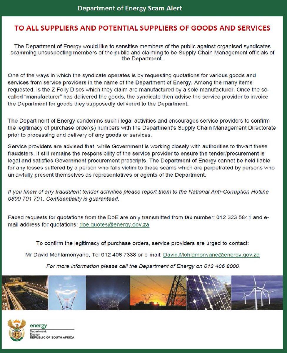 Department of Energy (@Energy_ZA) | Twitter