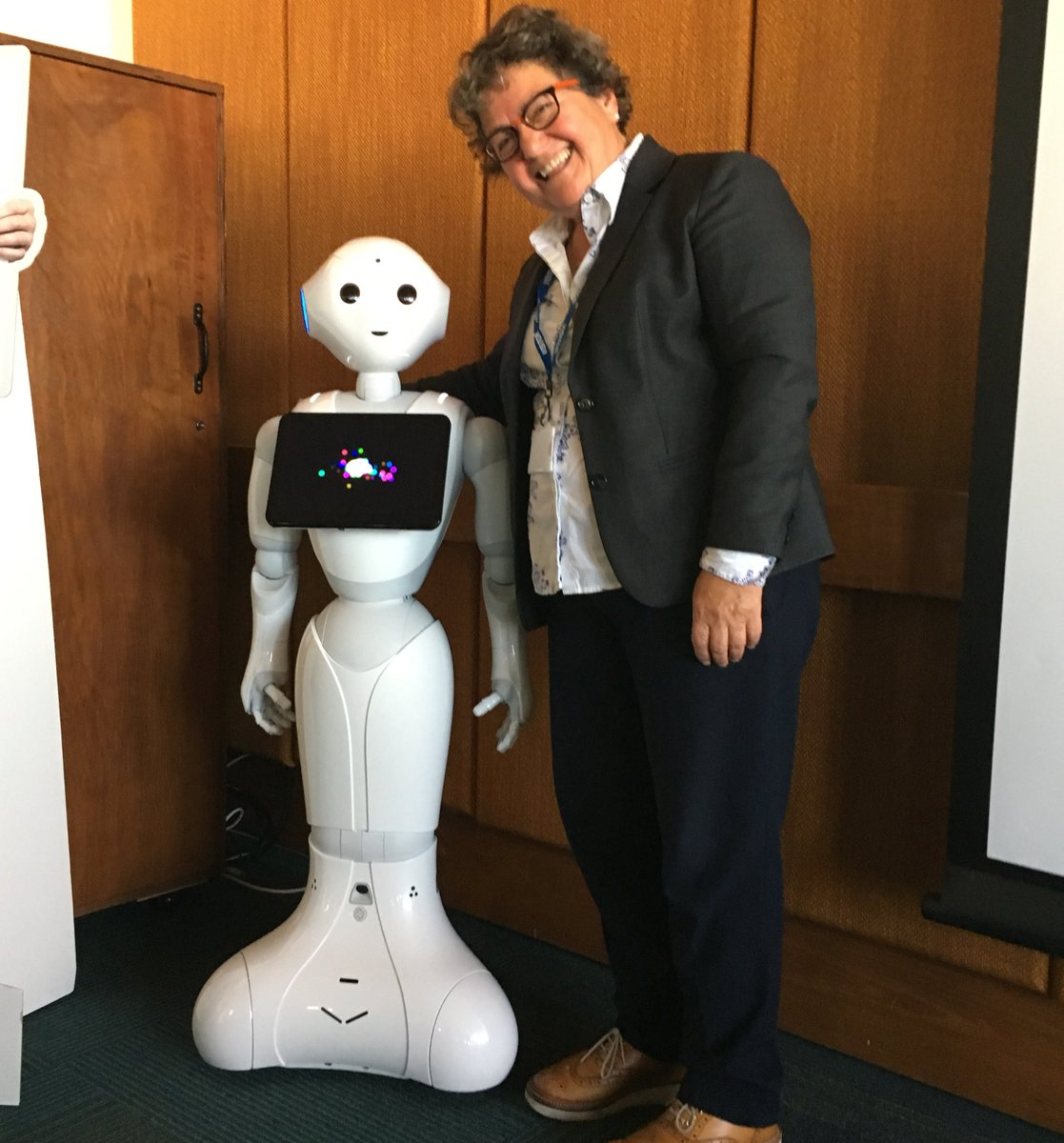 Meet Pepper the robot – Southend's newest social care