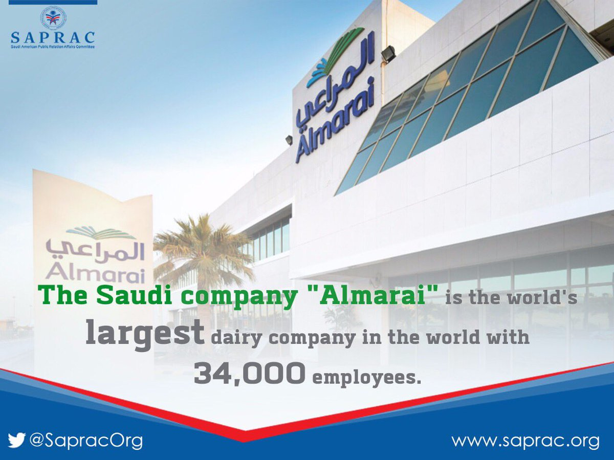 "SAPRAC on Twitter: ""#Saudi company @almarai is the world's ..."