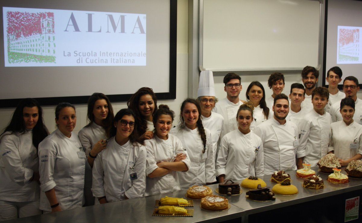 Alma scuola cucina on twitter corso superiore di pasticceria un onore avere ospite in - Alma scuola cucina costo ...