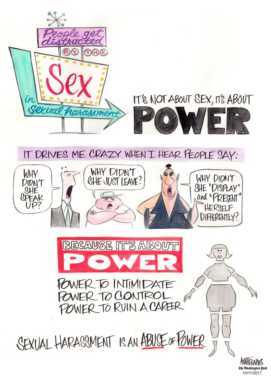 Power and sex who has it