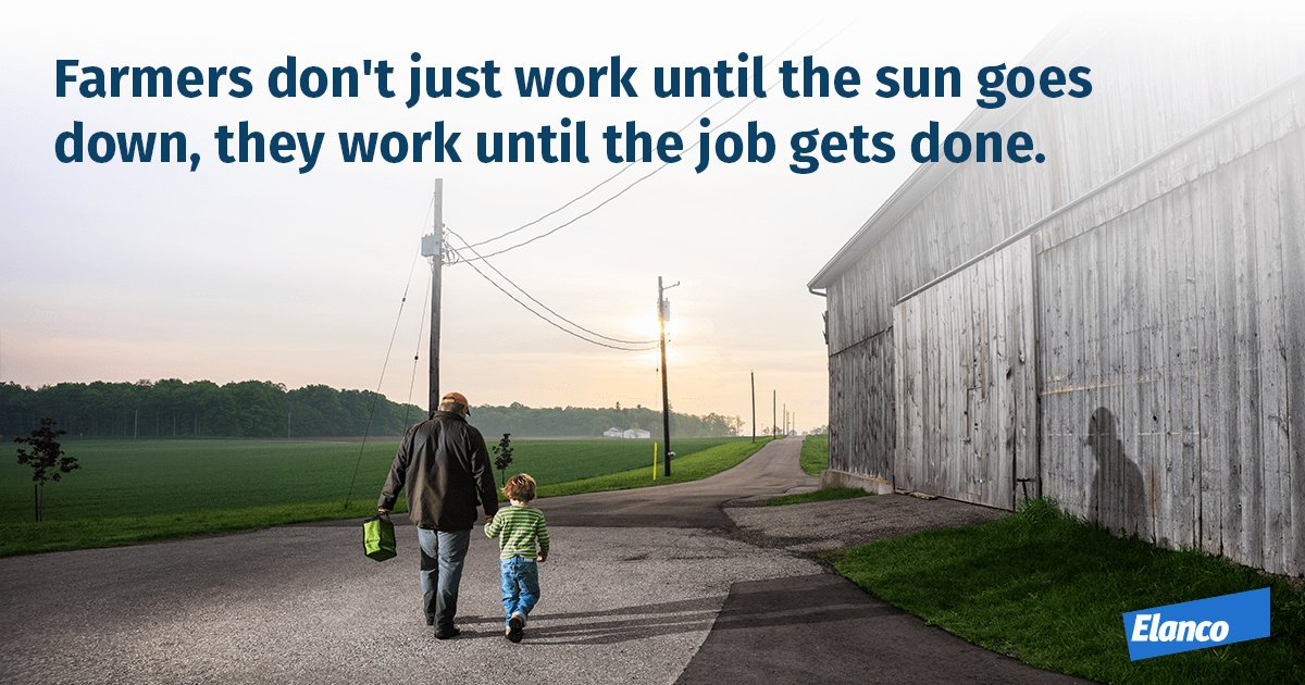 Farming isn&#39;t just a 9-5 job. It starts before the sun comes up and ends when the work is done. #NationalFarmersDay <br>http://pic.twitter.com/pnJkxqIpYp