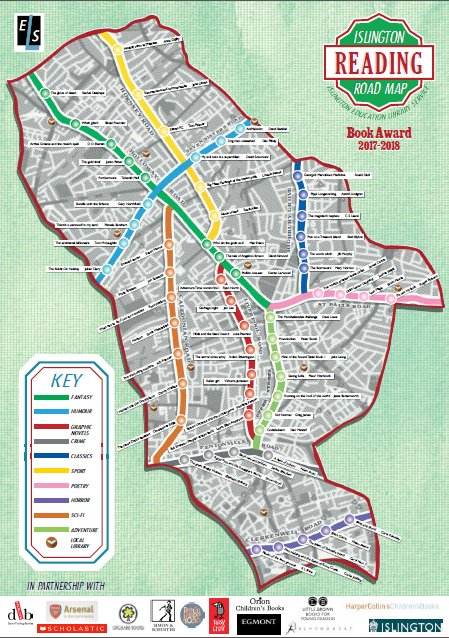 Image result for islington reading road map 2018