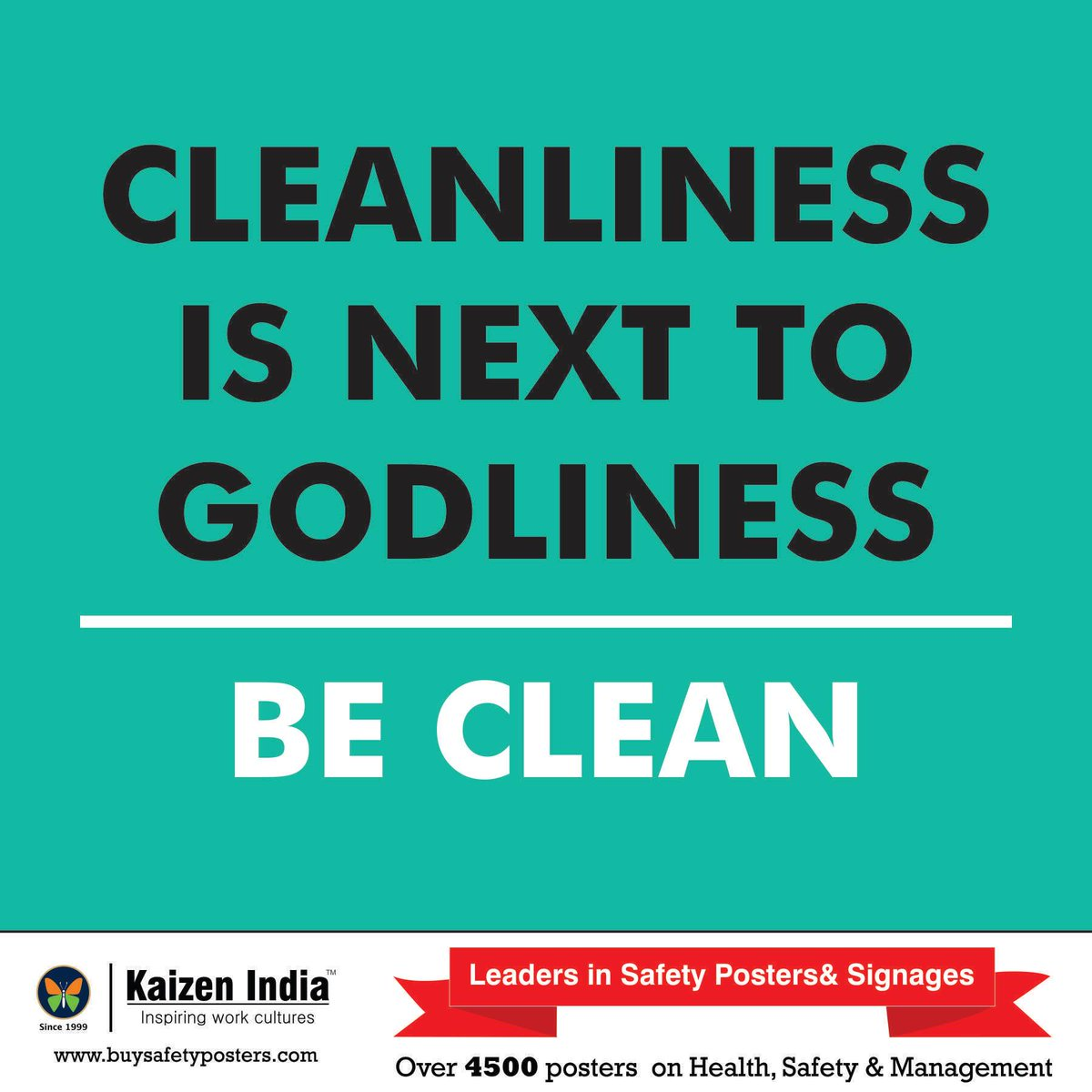 cleanliness is next to godliness essay