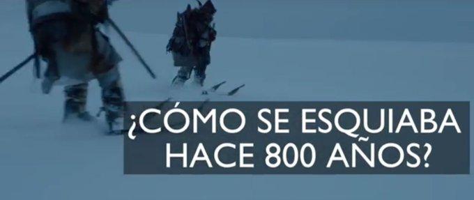 Impresionantes secuencias recreando a esquiadores del 1.200 DC en Noruega. Una película imprescindible. 📽️⛷️https://t.co/Pl9zaTOnDT