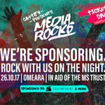 We are already rockin at the idea of sponsoring the #mediarocks charity event by @Captify for @MSTrust, join us ! https://t.co/F68ft1TFY3