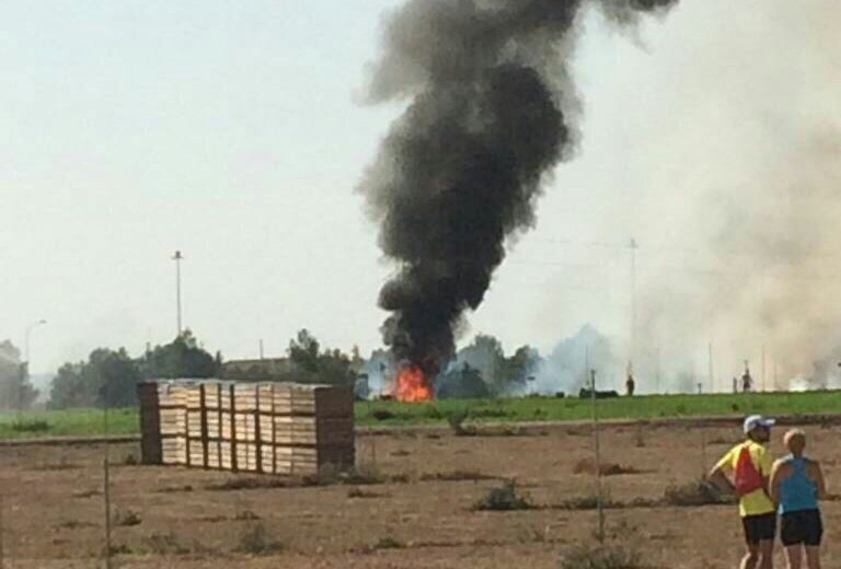 A air force eurofighter typhoon crashes in albacete kiling