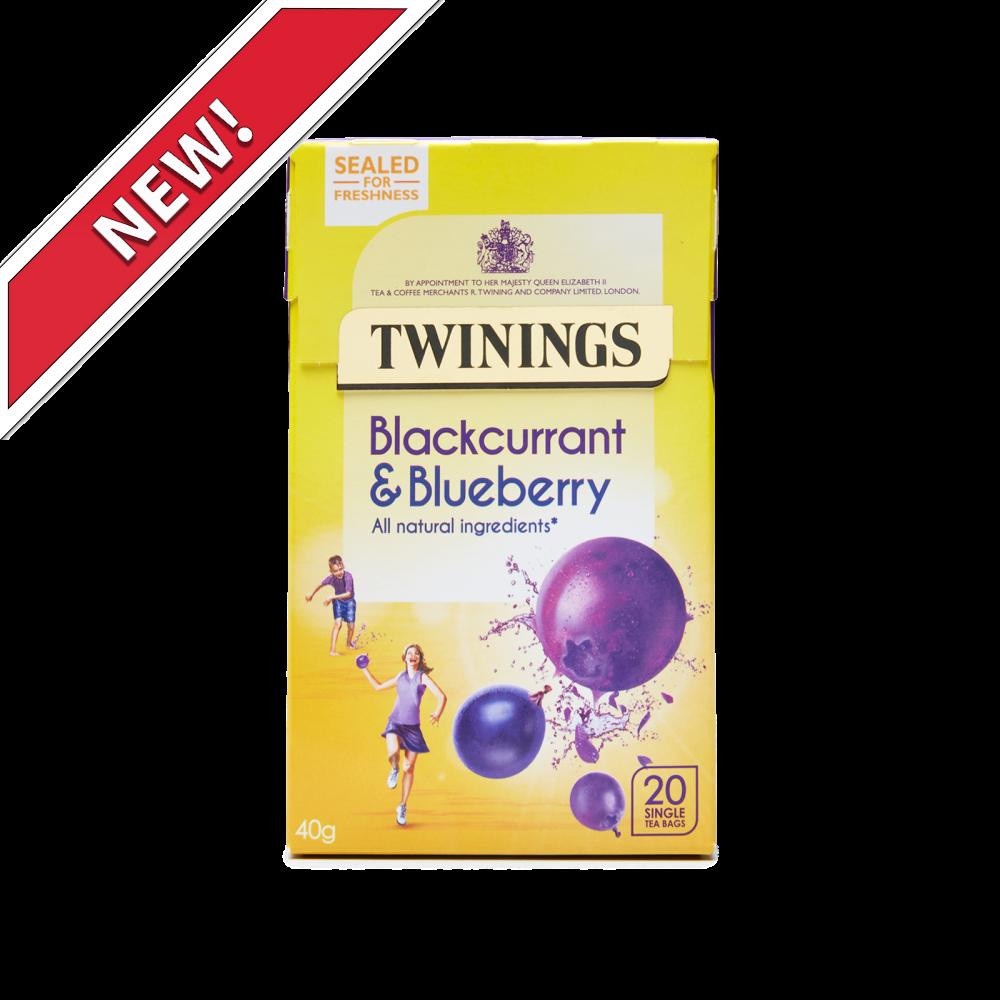 #Twinings Blackcurrant &amp; Blueberry #Tea 20&#39;s. A big, bold, flavour with a blueberry burst &amp; blackcurrant twang  http:// bit.ly/2xA6cDN  &nbsp;  <br>http://pic.twitter.com/Erou6Sk9hk