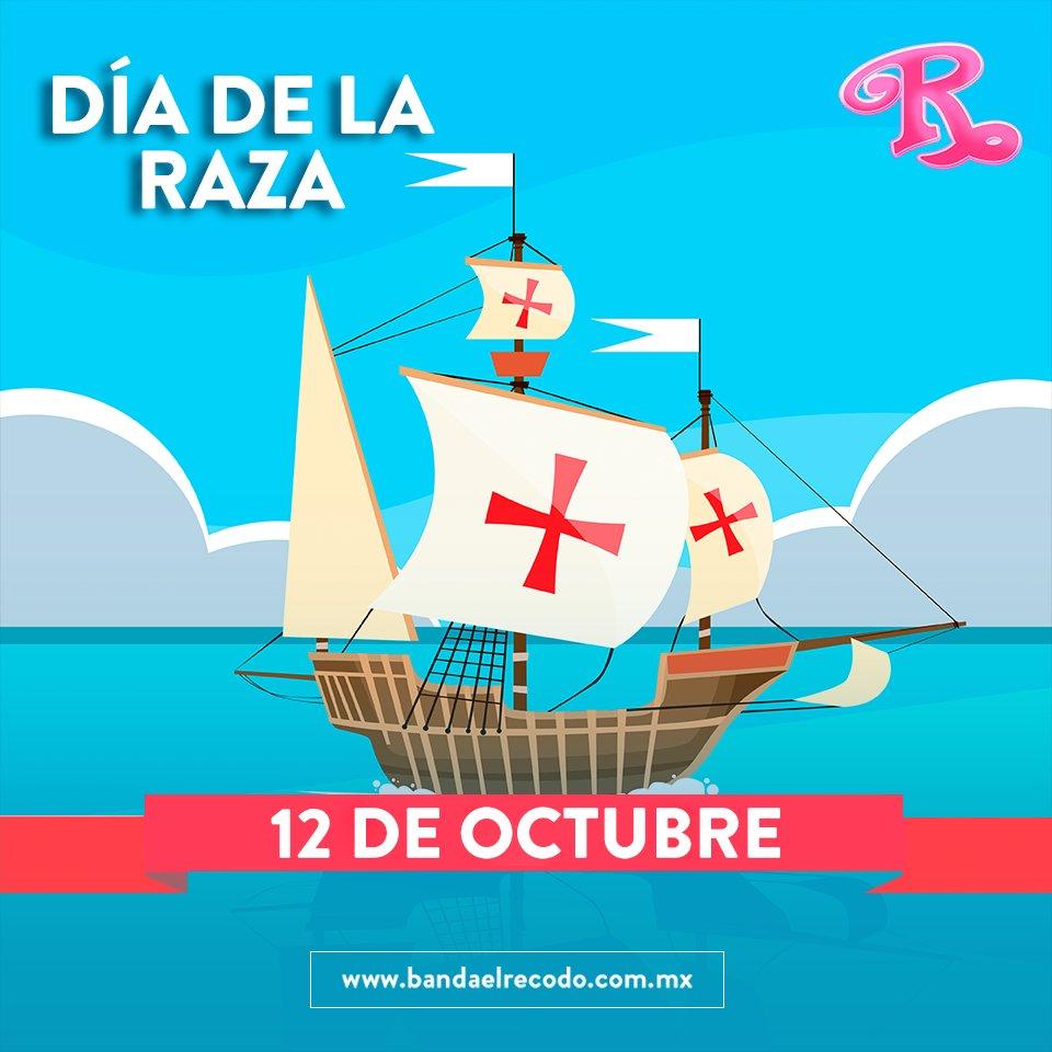 #EsDeGenteDistraída no saber que #HoyCelebramos el #DíaDeLaRaza #12deO...