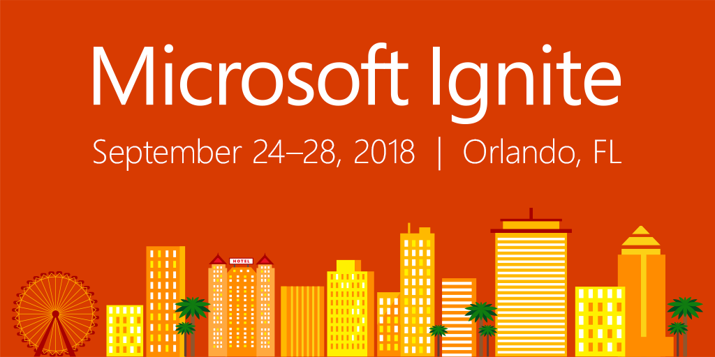 Will we see you next year in Orlando for #MSIgnite 2018? Pre-register now and beat the rush!  http:// msft.social/ryqszf  &nbsp;  <br>http://pic.twitter.com/PtbsUjYPPv