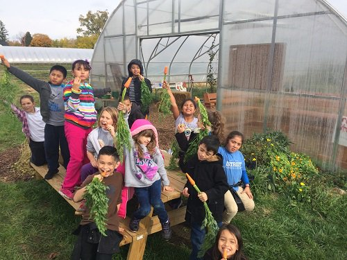 USDANutrition: Thanks for an informative #FarmtoSchool101 chat.  Happy #F2SMonth to all!<br>http://pic.twitter.com/kyIuCYnjJM
