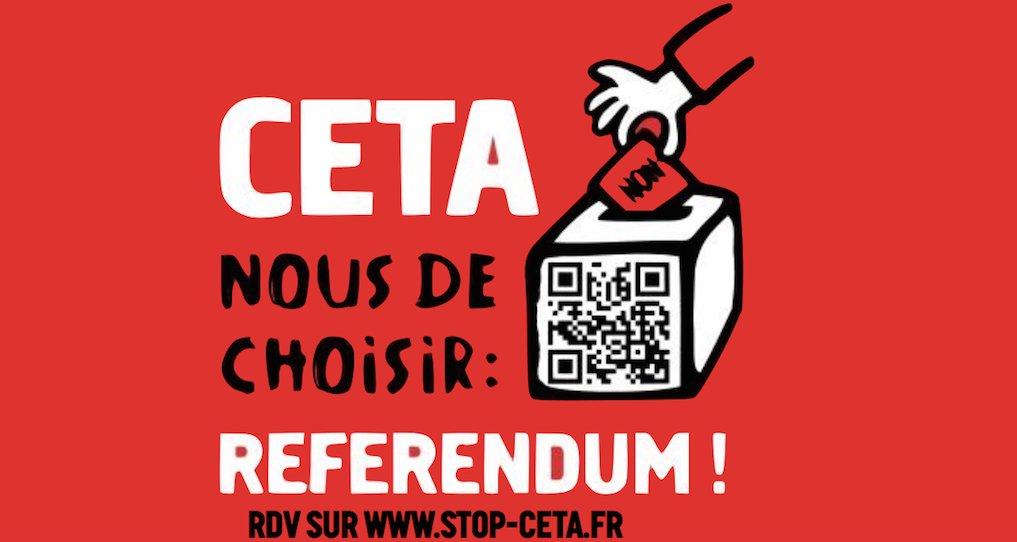 Toi aussi interpelle tes parlementaires pour exiger un referendum sur le #CETA. #ReferendumCETA  https:// france.attac.org/se-mobiliser/l e-grand-marche-transatlantique/article/ceta-nous-de-choisir-exigeons-un-referendum-aupres-de-nos-parlementaires  … pic.twitter.com/zJ6xBhLxVm