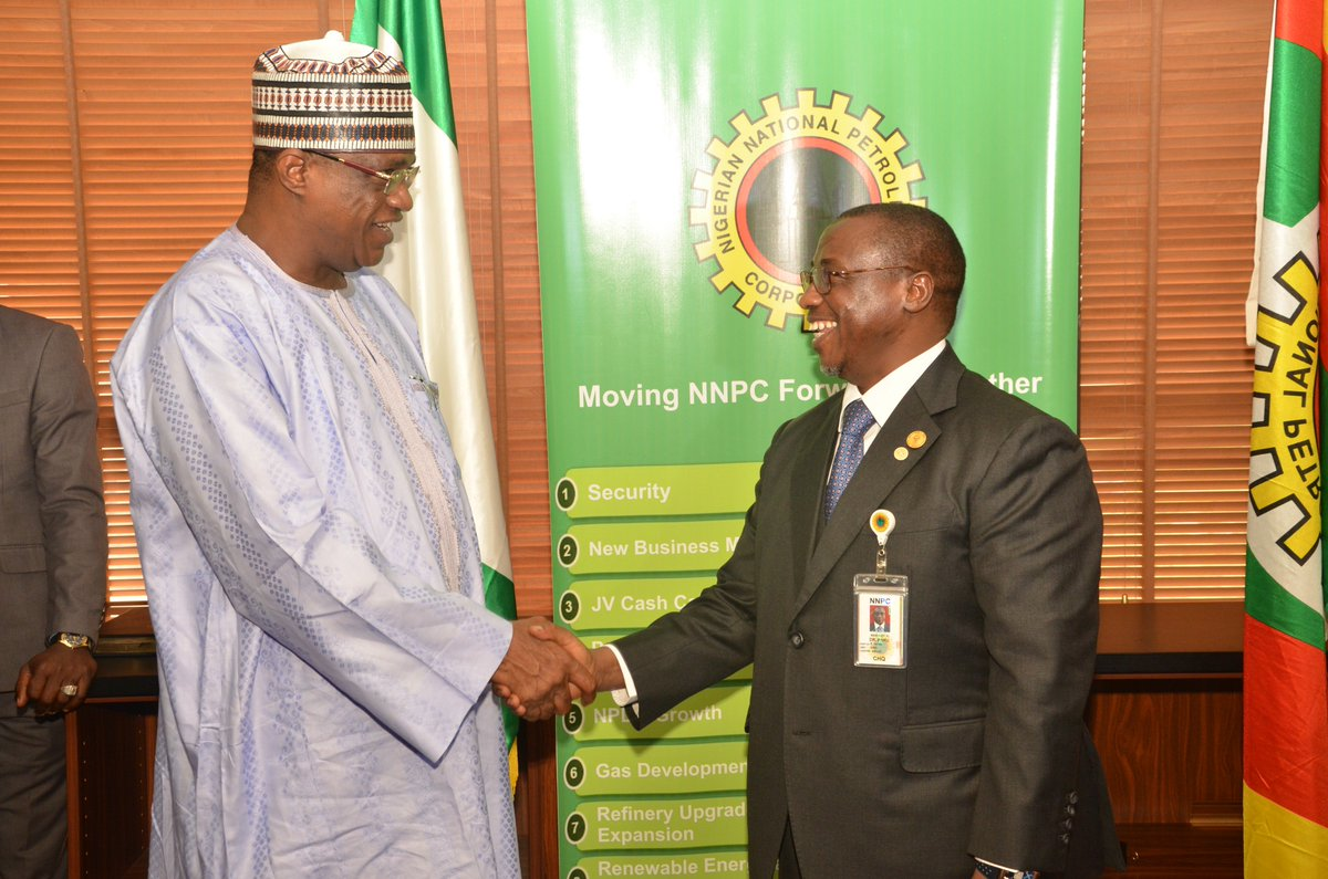 Oil Exploration: Baru Meets  Gov. Gaidam